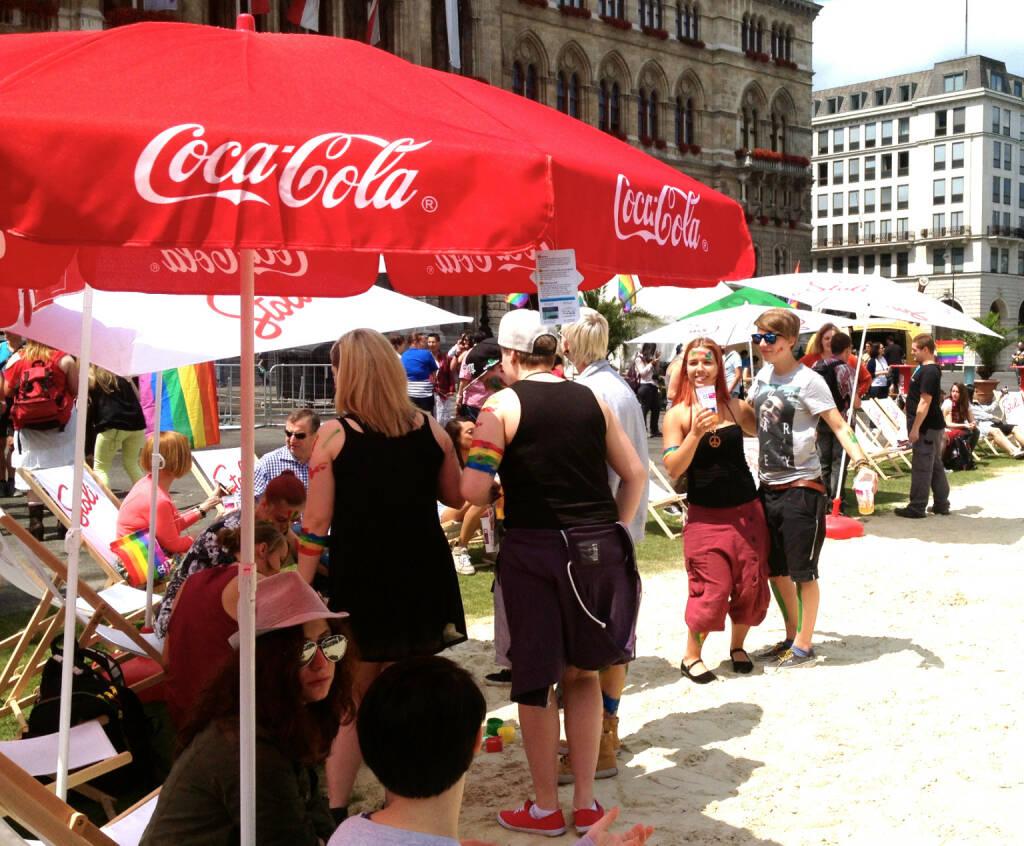 Coca-Cola Regenbogenparade 2014 (14.06.2014)