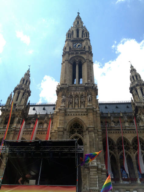 Rathaus Regenbogenparade 2014 (14.06.2014)