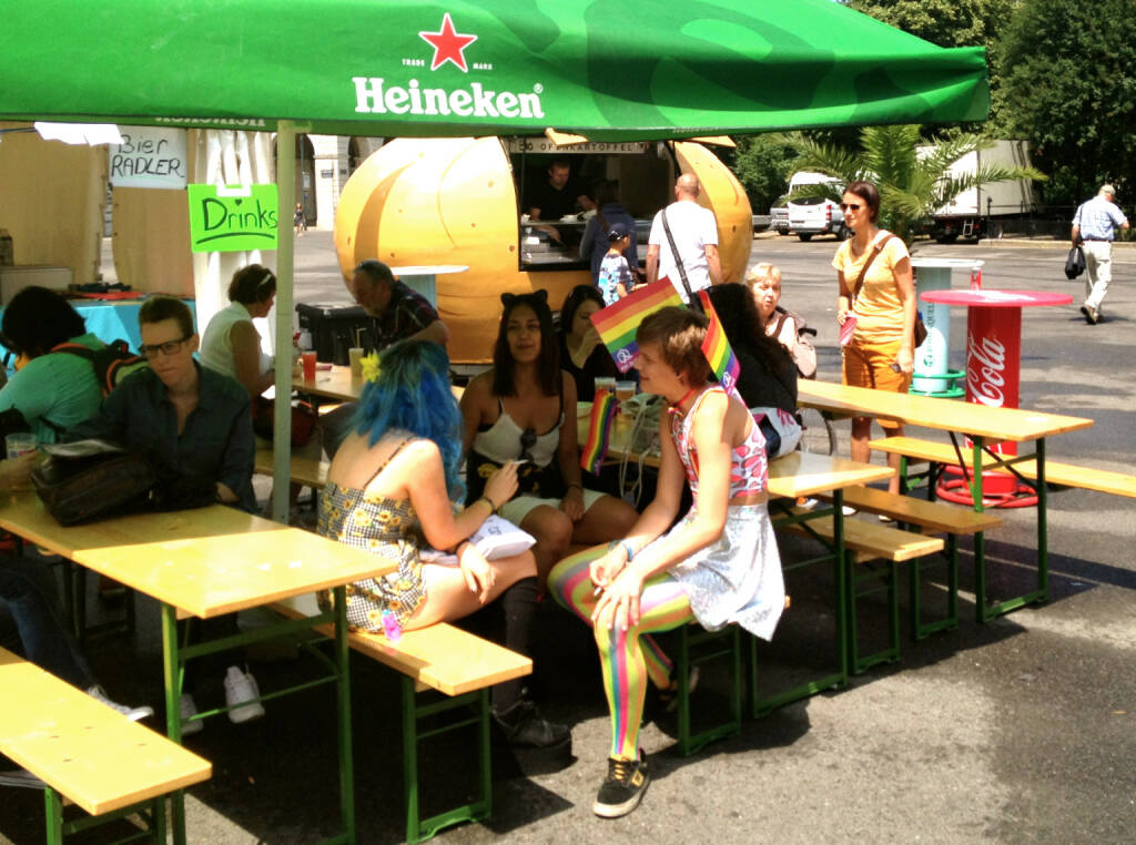 Heineken Regenbogenparade 2014 (14.06.2014)