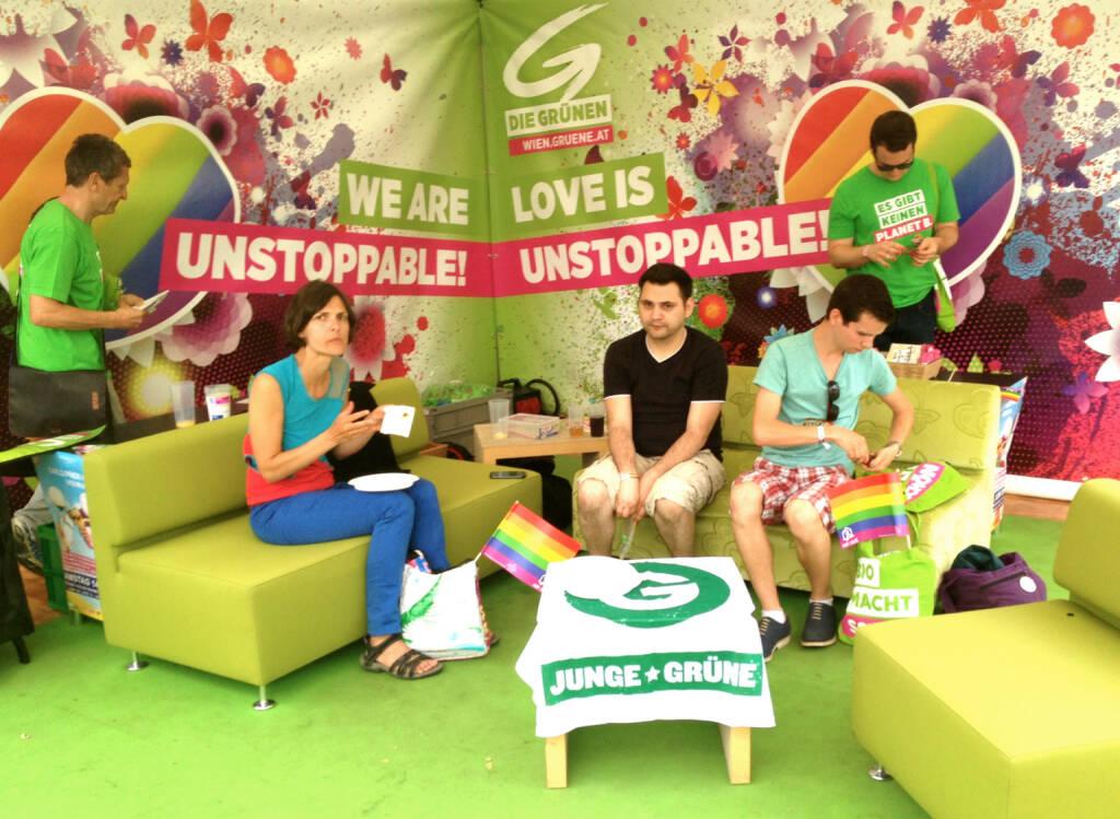 Die Grünen Regenbogenparade 2014 (14.06.2014)