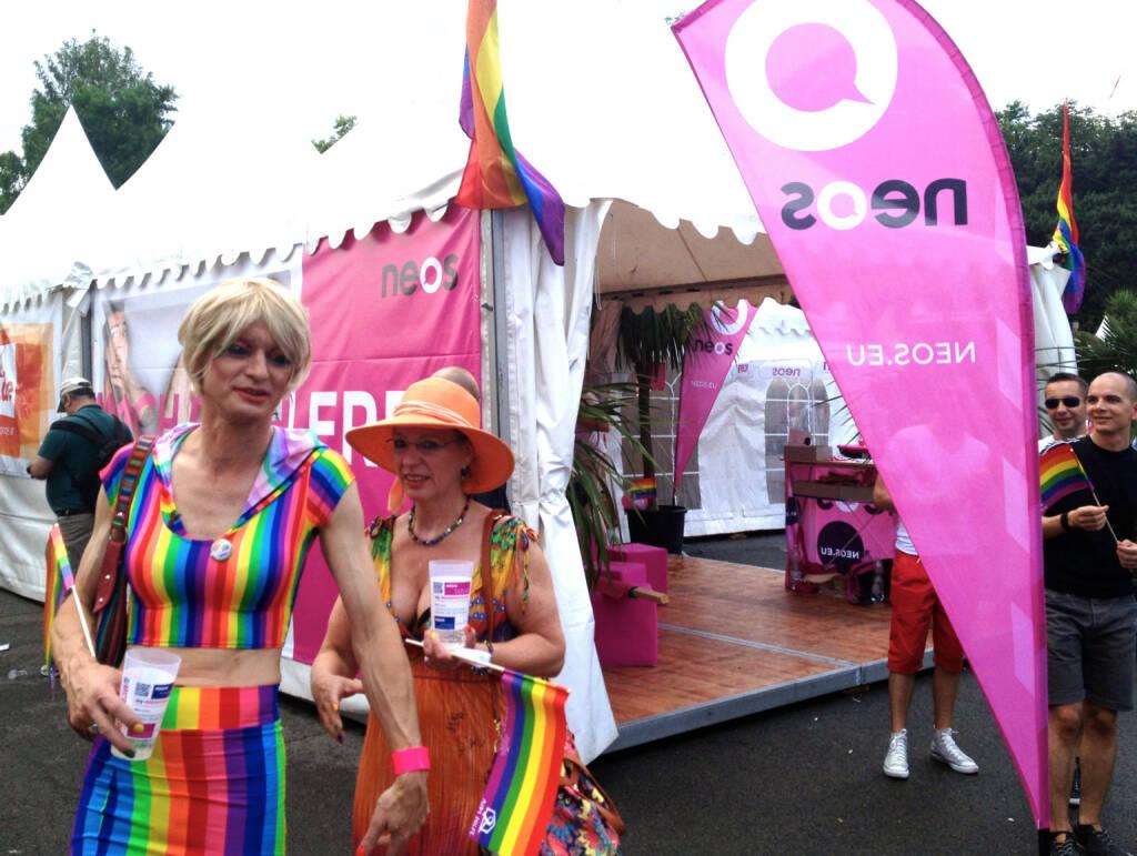 Neos Regenbogenparade 2014 (14.06.2014)