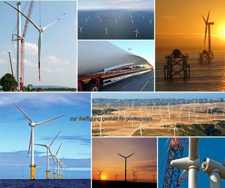 RWE: Zum GlobalWindDay am Sonntag hier eine Collage unserer schönsten Windenergie-Fotos. Wir wünschen allen Kollegen, die in der Windkraft arbeiten, kräftigen Rückenwind!  Source: http://facebook.com/vorweggehen