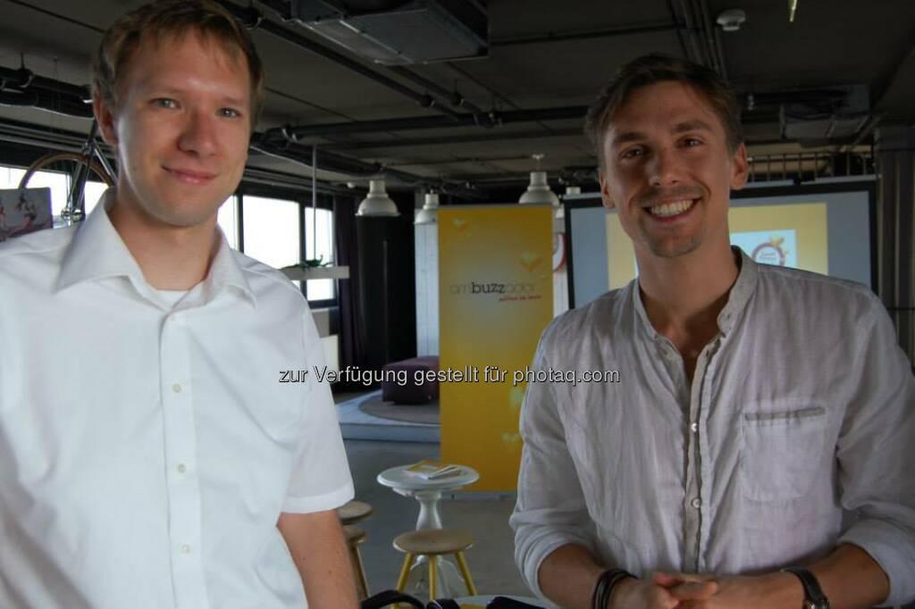 Florian Figl (ambuzzador), Marcel Falzer (Google Ireland)  (15.06.2014)