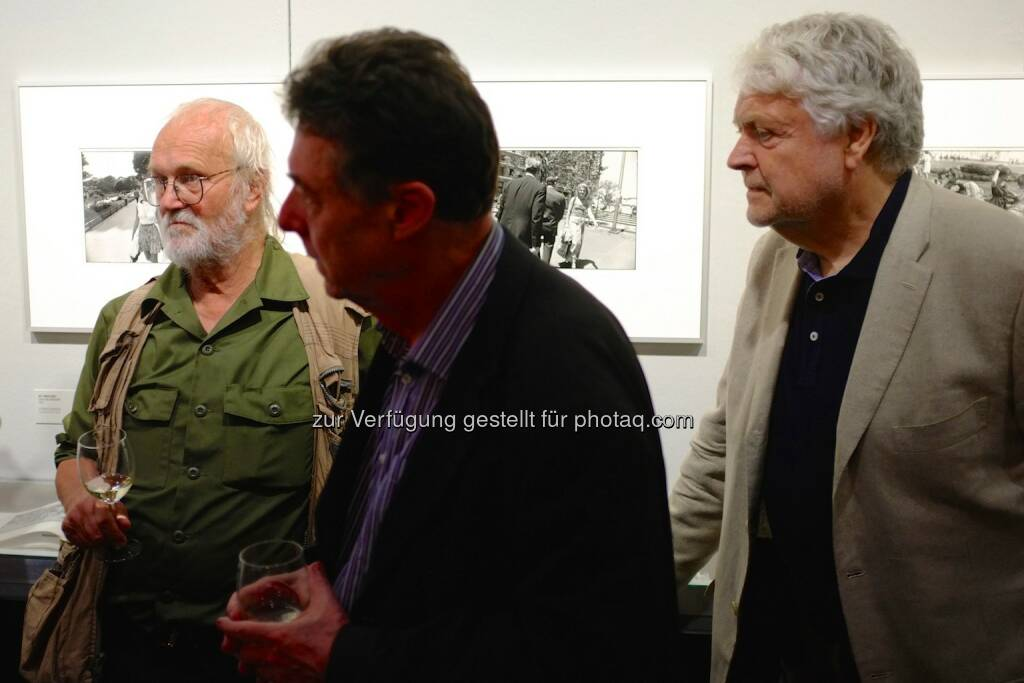 Josef Koudelka, Gerry Badger, Manfred Heiting, © Josef Chladek (15.06.2014)