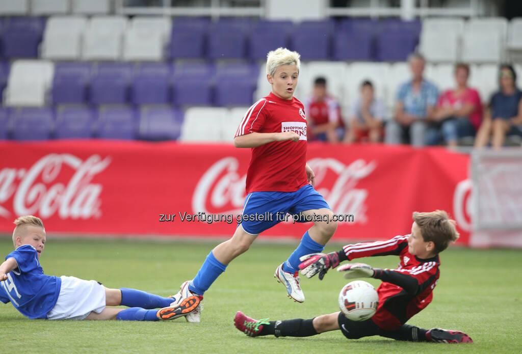 Spieler des SV Horn, Coca-Cola Cup, Bundesfinale.  Foto: GEPA pictures/ Mario Kneisl, © Gepa (16.06.2014)