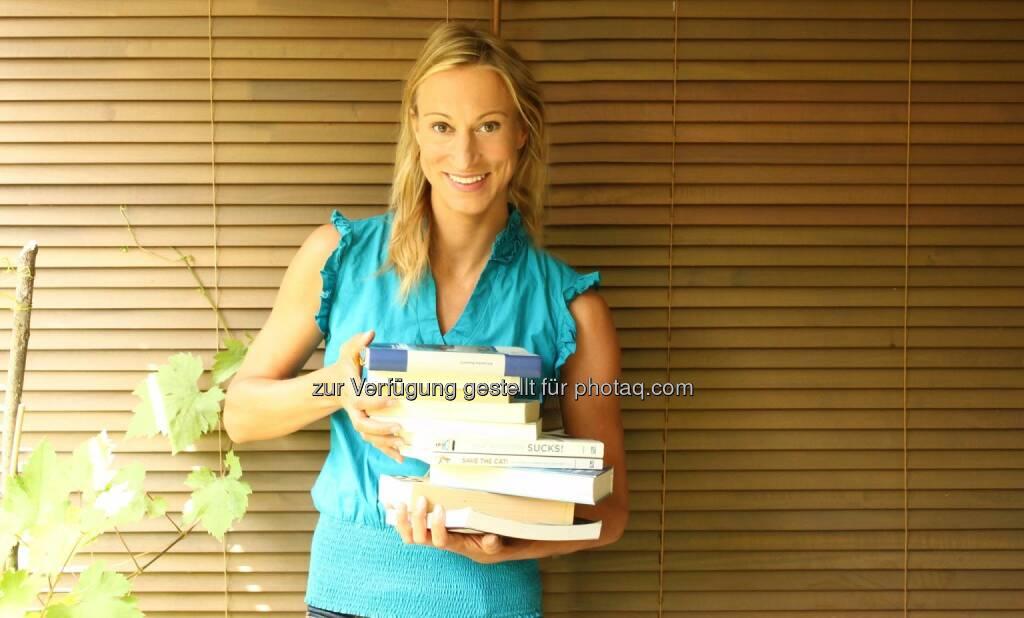 Bücher , Alessandra Ravanelli, Drehbuchautorin/Schriftstellerin (Beziehungsweise Liebe) (c) Ravanelli (16.06.2014)