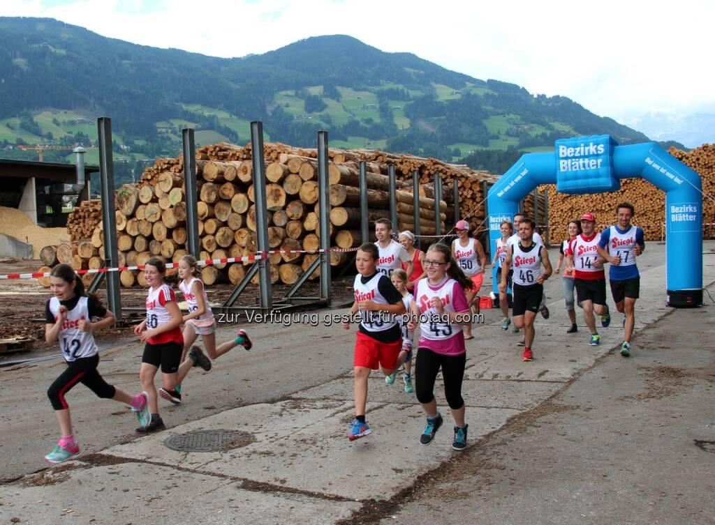 Binderholz - FeuerWerk: 'step the trepp': 5. Charity Treppenlauf bei binderholz - Samstag, 14. Juni 2014 (16.06.2014)