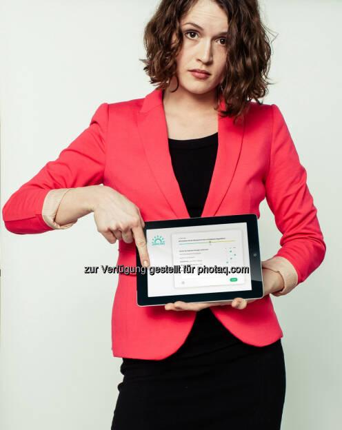 Tablet: Plenos Agentur für Kommunikation GmbH: Jobklima misst die Stimmung im Unternehmen (c) Florian Stürzenbaum, © Aussendung (16.06.2014)