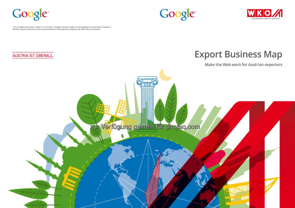 Export Business Map Österreich, © WKO Google (16.06.2014)