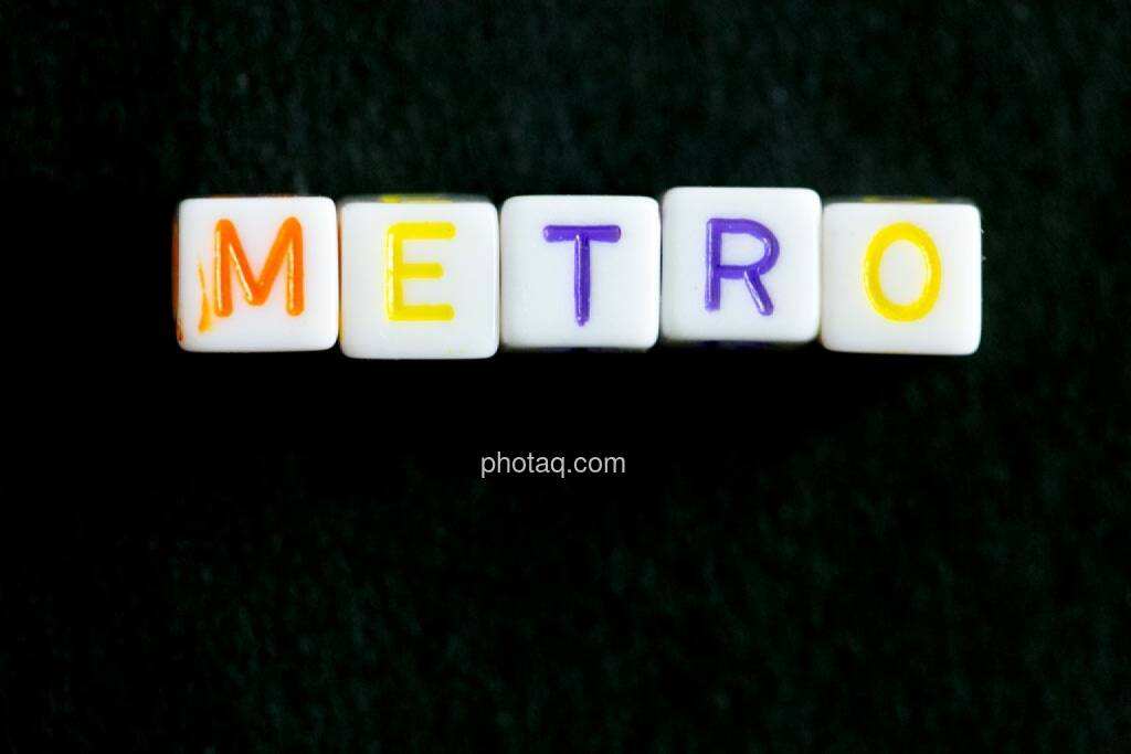 Metro, © finanzmarktfoto.at/Martina Draper (17.06.2014)