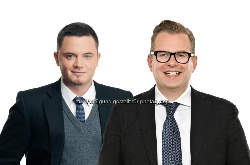 Vid Kobe (Rechtsanwalt) und Martin Ebner (Partner) - beide Schönherr: Schönherr berät Gläubigerbanken der slowenischen Mercator-Gruppe bei ca. 1 Mrd. EUR Restrukturierungspaket (17.06.2014)
