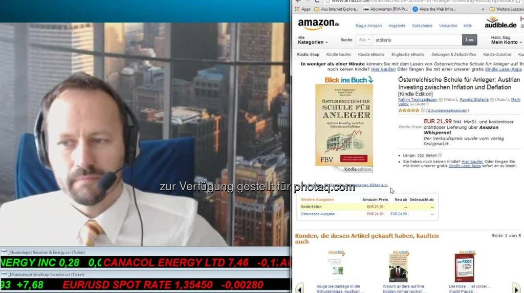 Joe Brunner Smallcap-Investor Talk 214 Interview mit Ronald-Peter Stöferle (19.06.2014)