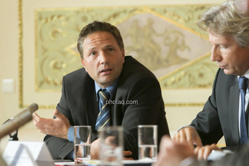 Marcus Handl (Kapsch), Wolfang Kindl (Uniqa), © Martina Draper (15.12.2012)