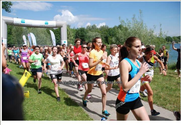 Start, OÖGKK Frauenlauf Linz 2014