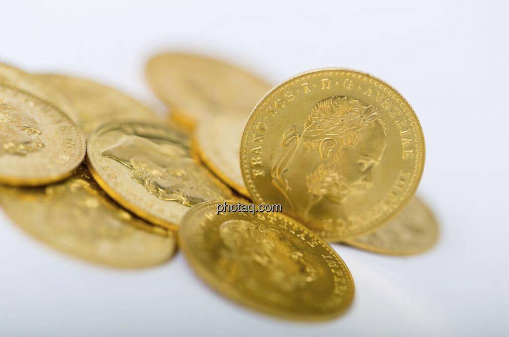 Goldmünzen, Gold (c) Martina Draper (03.01.2013)