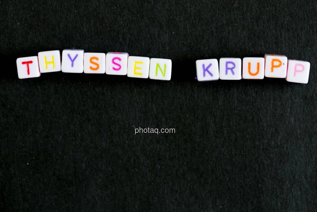 Thyssen Krupp, © finanzmarktfoto.at/Martina Draper (23.06.2014)