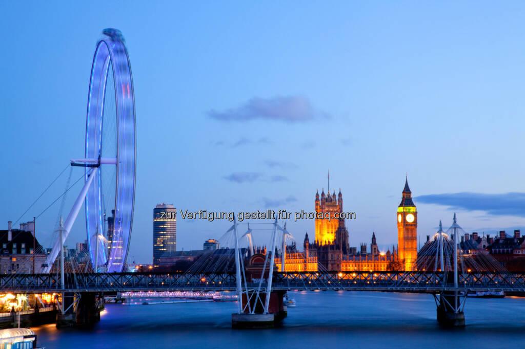 London als Reiseziel stets gefragt - Foto: Fotolia, Abdruck honorarfrei, © Aussendung checkfelix (03.01.2013)