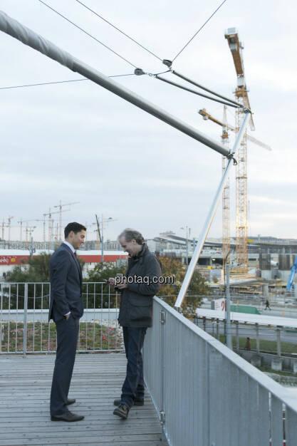 Dominik Hojas (derboersianer), Christian Drastil (CD Comm.), © Martina Draper (15.12.2012)