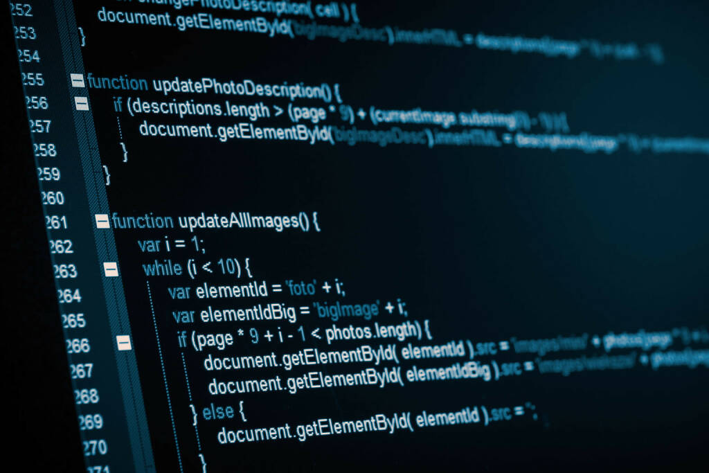 Code, Programm, Programmieren, Source, Shell http://www.shutterstock.com/de/pic-148972376/stock-photo-program-code-on-a-monitor.html (24.06.2014)