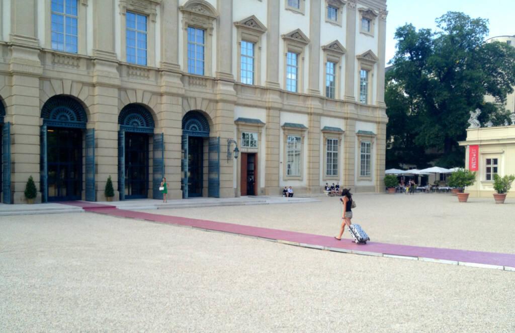 Der Weg Palais Liechtenstein (24.06.2014)
