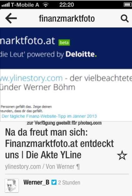 Dank an Werner Böhm via Twitter (03.01.2013)