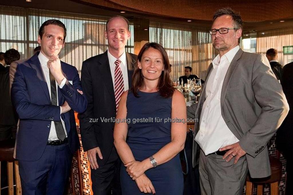Michael Berl, Thomas Schaller, Beatrix Schlaffer (Bild: DerBörsianer) (25.06.2014)