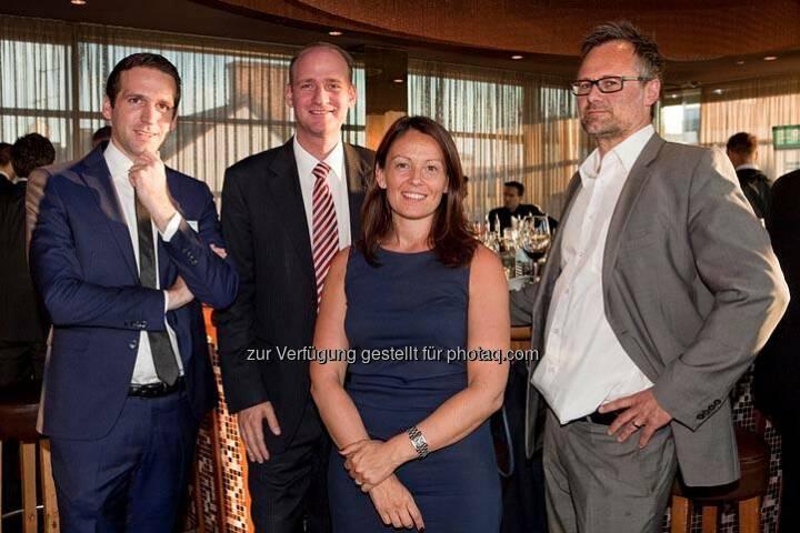 Michael Berl, Thomas Schaller, Beatrix Schlaffer (Bild: DerBörsianer)