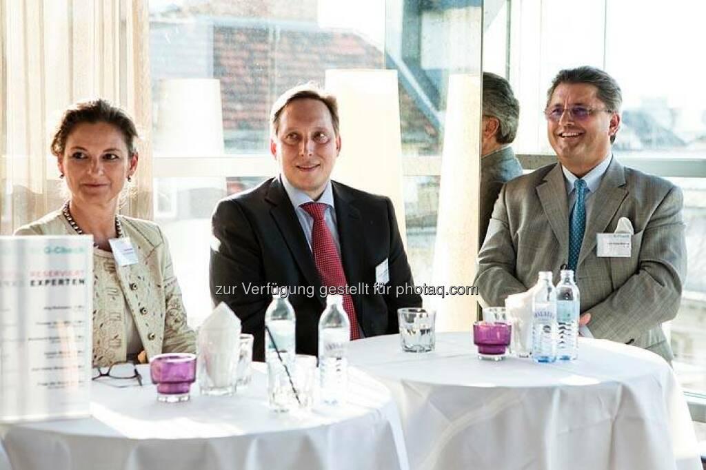 Carola Weibel (Reiter Immobilien), Karl-Heinz Strauss (Porr)  (Bild: DerBörsianer) (25.06.2014)