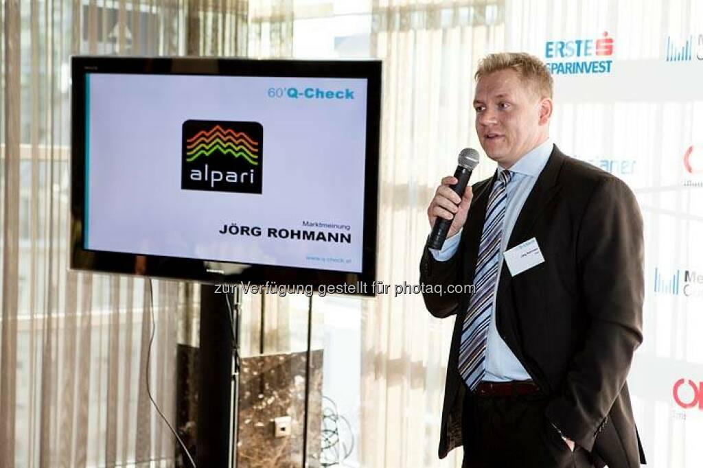 Jörg Rohmann (Alpari) (Bild: DerBörsianer) (25.06.2014)