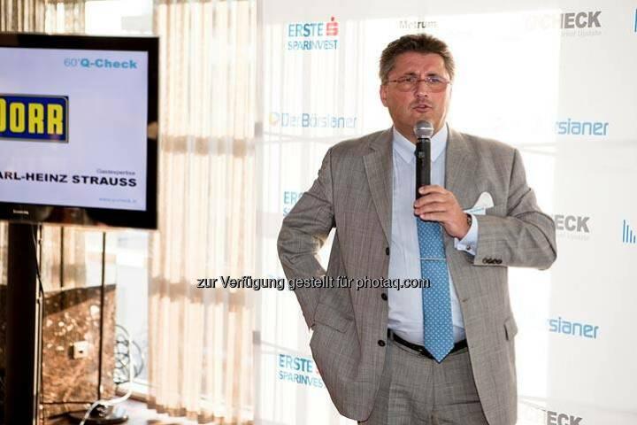 Karl-Heinz Strauss (Porr) (Bild: DerBörsianer)