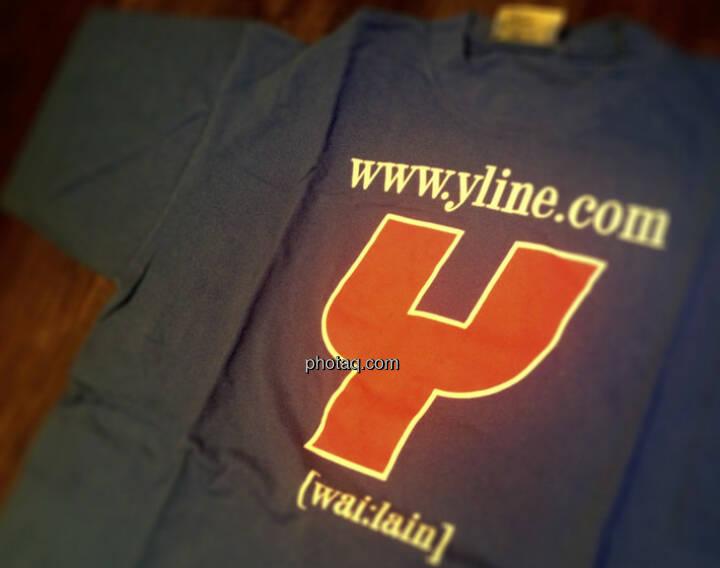 wai:lein, das YLine-TShirt