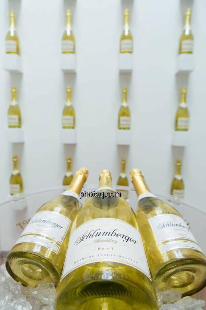 Sektflaschen, Schlumberger, © photeq/Martina Draper (27.06.2014)
