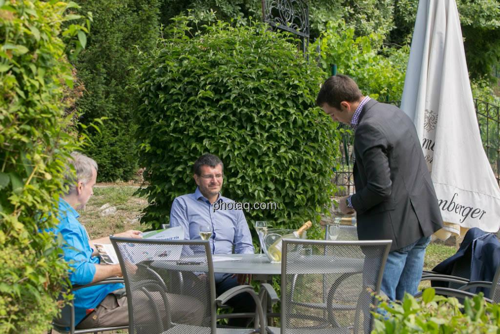 Christian Drastil, Andreas Wölfl, Markus Graser, © photeq/Martina Draper (27.06.2014)
