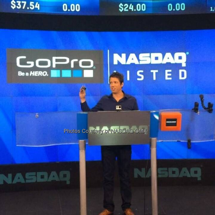 GreatAdvice from Nick Woodman, CEO of GoPro  #GoPro  Source: http://facebook.com/NASDAQ