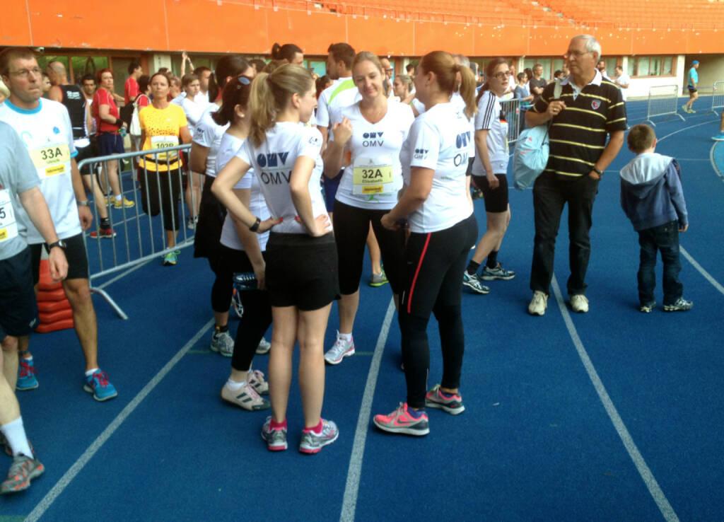OMV beim LCC Teamrun (27.06.2014)