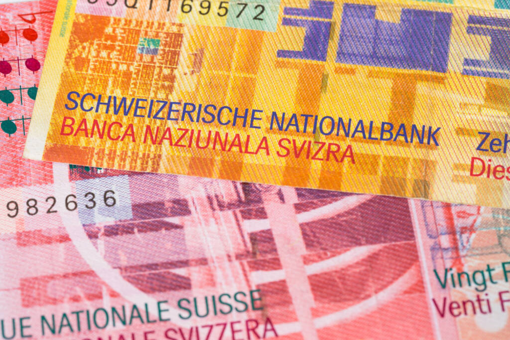Schweizer Franken, SNB, Schweizerische Notenbank Schweiz http://www.shutterstock.com/de/pic-163896584/stock-photo-switzerland-money-swiss-franc-banknote-close-up.html (Bild: www.shutterstock.com) (29.06.2014)