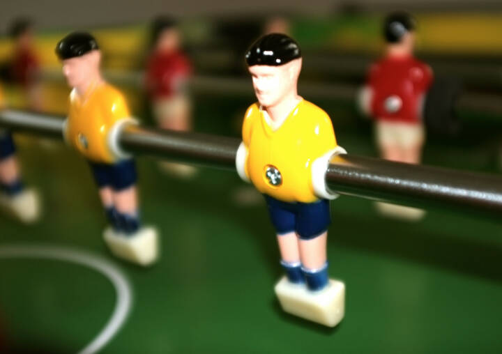 Brasilien WM, Tischfussball