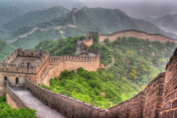 Chinesische Mauer, China, http://www.shutterstock.com/de/pic-93984988/stock-photo-the-great-wall-of-china.html