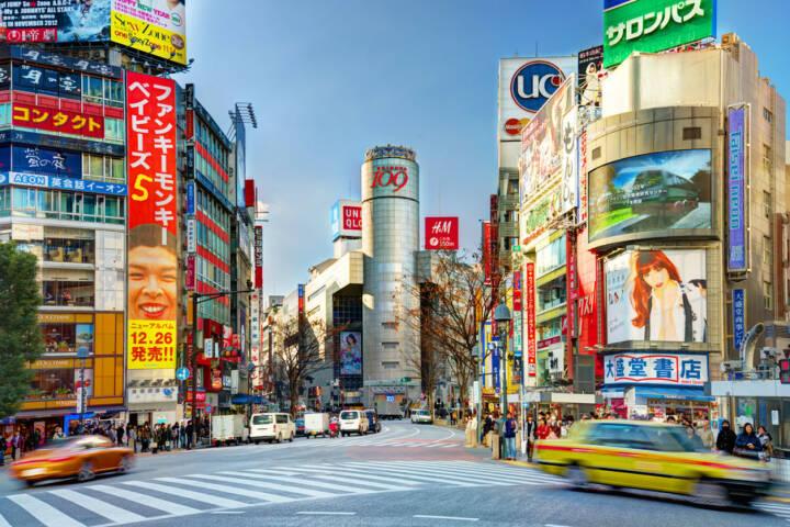 Tokyo, Shibuya, <a href=http://www.shutterstock.com/gallery-578401p1.html?cr=00&pl=edit-00>Sean Pavone</a> / <a href=http://www.shutterstock.com/?cr=00&pl=edit-00>Shutterstock.com</a>