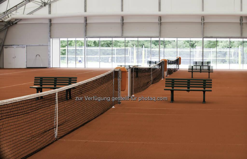 Sportstättenverein Marswiese: Freilufttennis in der Halle: Neueröffnung einer innovativen Tennishalle, © Aussendung (01.07.2014)