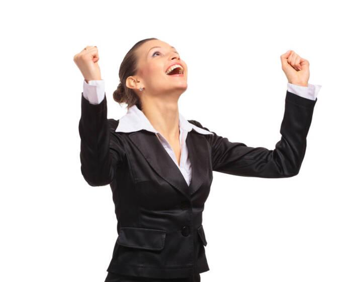 yes, Freude, Erfolg, Deal closed, gewonnen http://www.shutterstock.com/de/pic-69779962/stock-photo-happy-business-woman.html