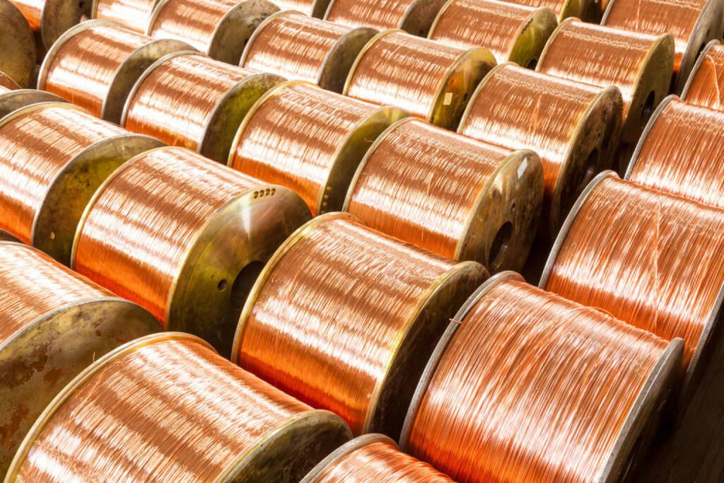 Kupfer, Kupferspulen, http://www.shutterstock.com/de/pic-152041094/stock-photo-copper-cable-factory.html , © (www.shutterstock.com) (01.07.2014)