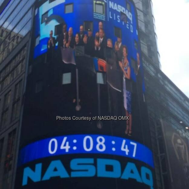 Watch the lgihomes closing bell outside on the #NASDAQ Tower! #TimesSquare #LGIH  Source: http://facebook.com/NASDAQ (02.07.2014)