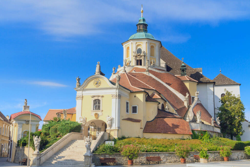 Eisenstadt, Burgenland, Haydn Kirche, Kalvarienberg, http://www.shutterstock.com/de/pic-162282944/stock-photo-eisenstadt-mountain-church-haydn-church-on-kalvarienberg-burgenland-austria.html, (Bild: www.shutterstock.com) (02.07.2014)