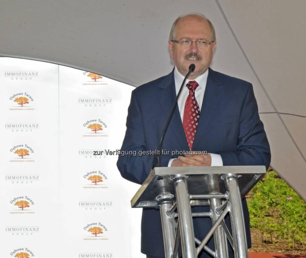 Piotr Uszok, Bürgermeister von Kattowitz, © Immofinanz (03.07.2014)