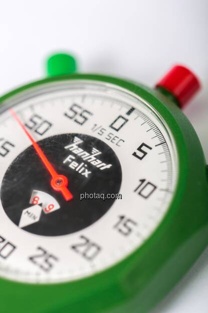 Counten wir die Minuten bis Marktstart runter ... (c) Martina Draper (08.01.2013)