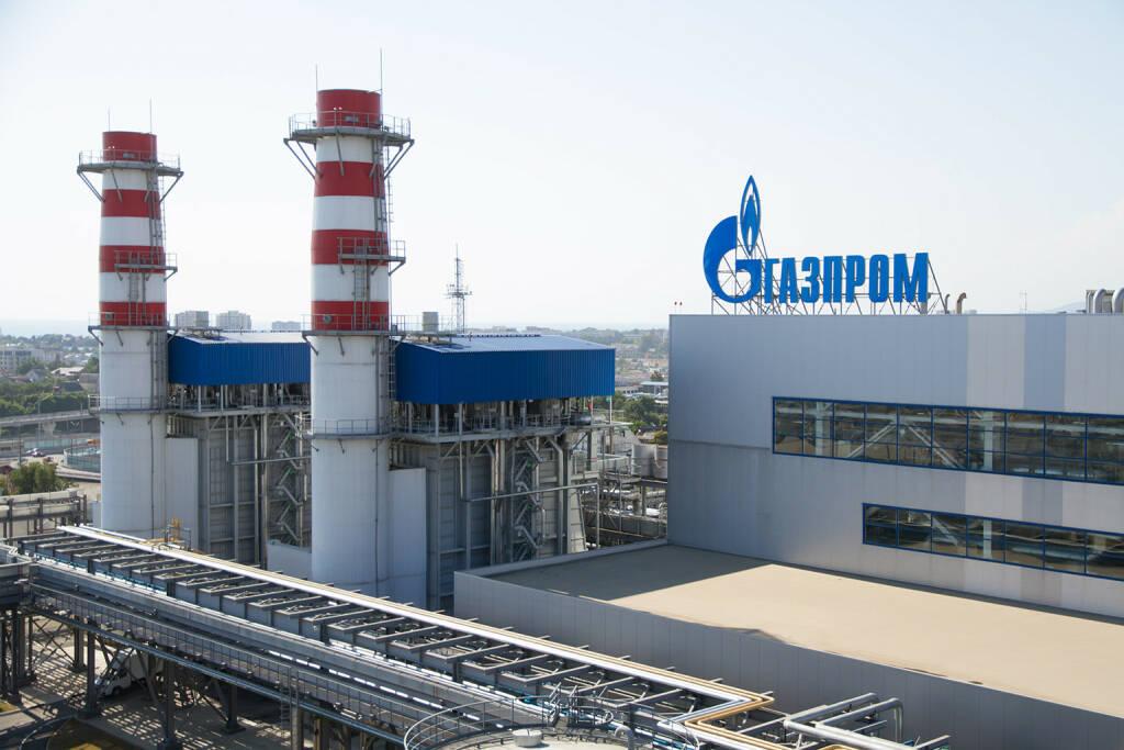 Gazprom, thermisches Kraftwerk, http://www.shutterstock.com/gallery-9596p1.html?cr=00&pl=edit-00 (Bild: Merkushev Vasiliy / Shutterstock.com) (05.07.2014)