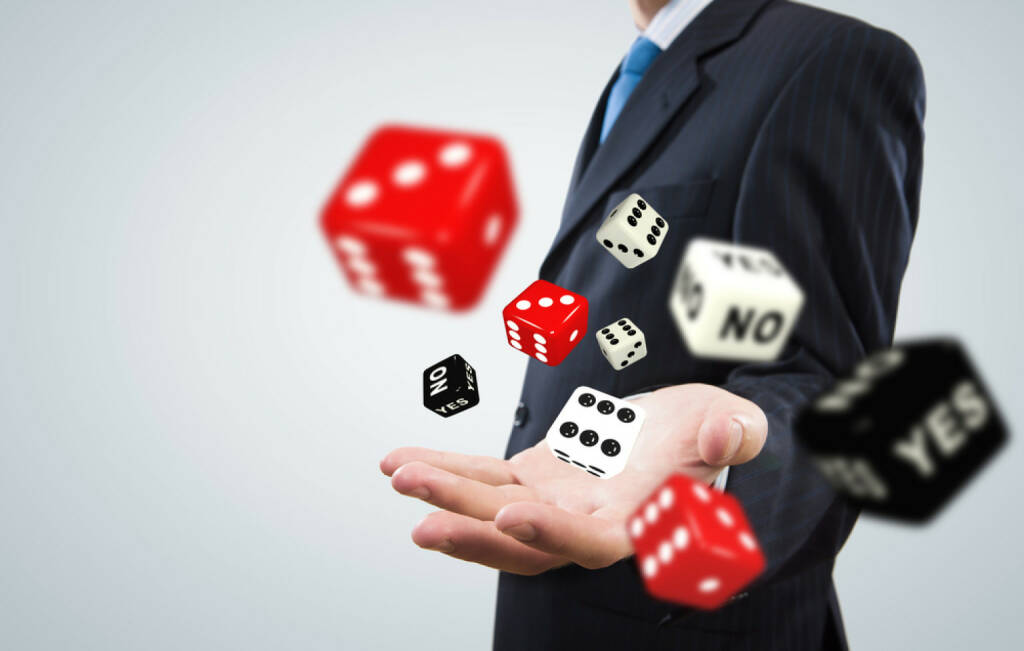 Würfel, Glück, Glücksspiel, Casino, Glücksspiel, gaming, Spiel, http://www.shutterstock.com/de/pic-169942937/stock-photo-close-up-of-businessman-throwing-dice-gambling-concept.html  (07.07.2014)