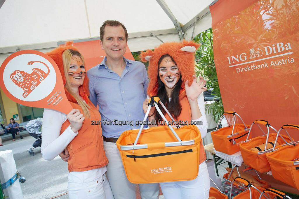 CEO Roel Huisman - ING-DiBa Austria feierte 10jähriges Jubiläum (Bild: Thomas Preiss) (07.07.2014)