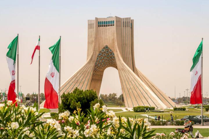 Teheran, Azadi Monument, Iran, http://www.shutterstock.com/de/pic-154553570/stock-photo-azadi-monument-tehran.html